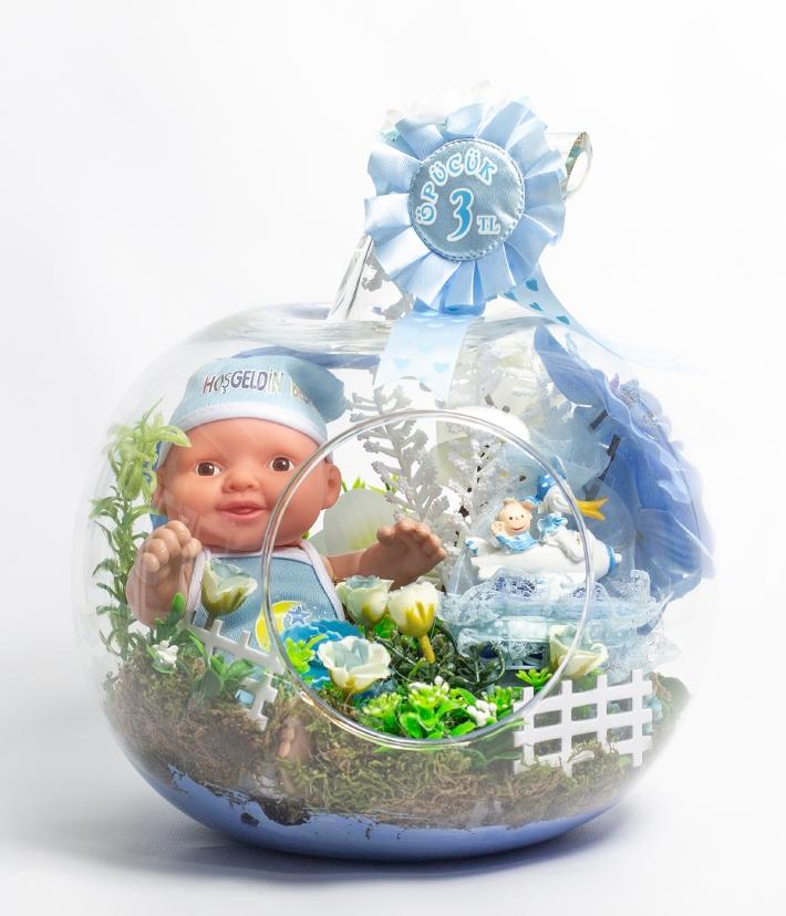 Erkek bebek teraryum