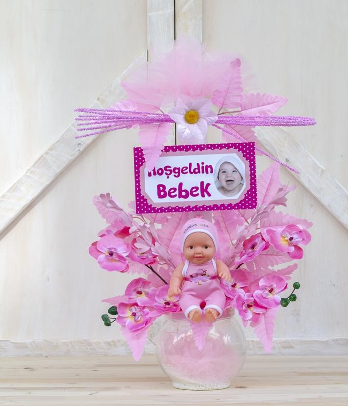 Kız bebek doğum aranjmanı